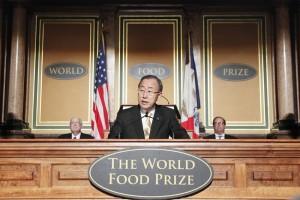 La elección de la ganadora del Premio Mundial de Alimentos ha invocado una respuesta por los 81 Consejos Supremos de la  World Future Council .