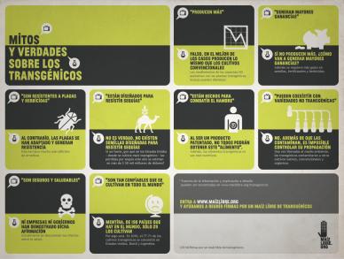 infografica mitos #sabíasque los ciudadanos mexicanos podemos iniciar leyes en el congreso? Visita la iniciativa ciudadana www.maizlibre.org