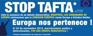 NO a TAFTA/TTIP (Español)