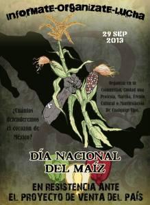 Somos Maíz, somos muchos pueblos de maíz, somos carne, huesos, sangre y piel de maíz.